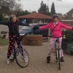 Staff pedaled to school in their pyjamas